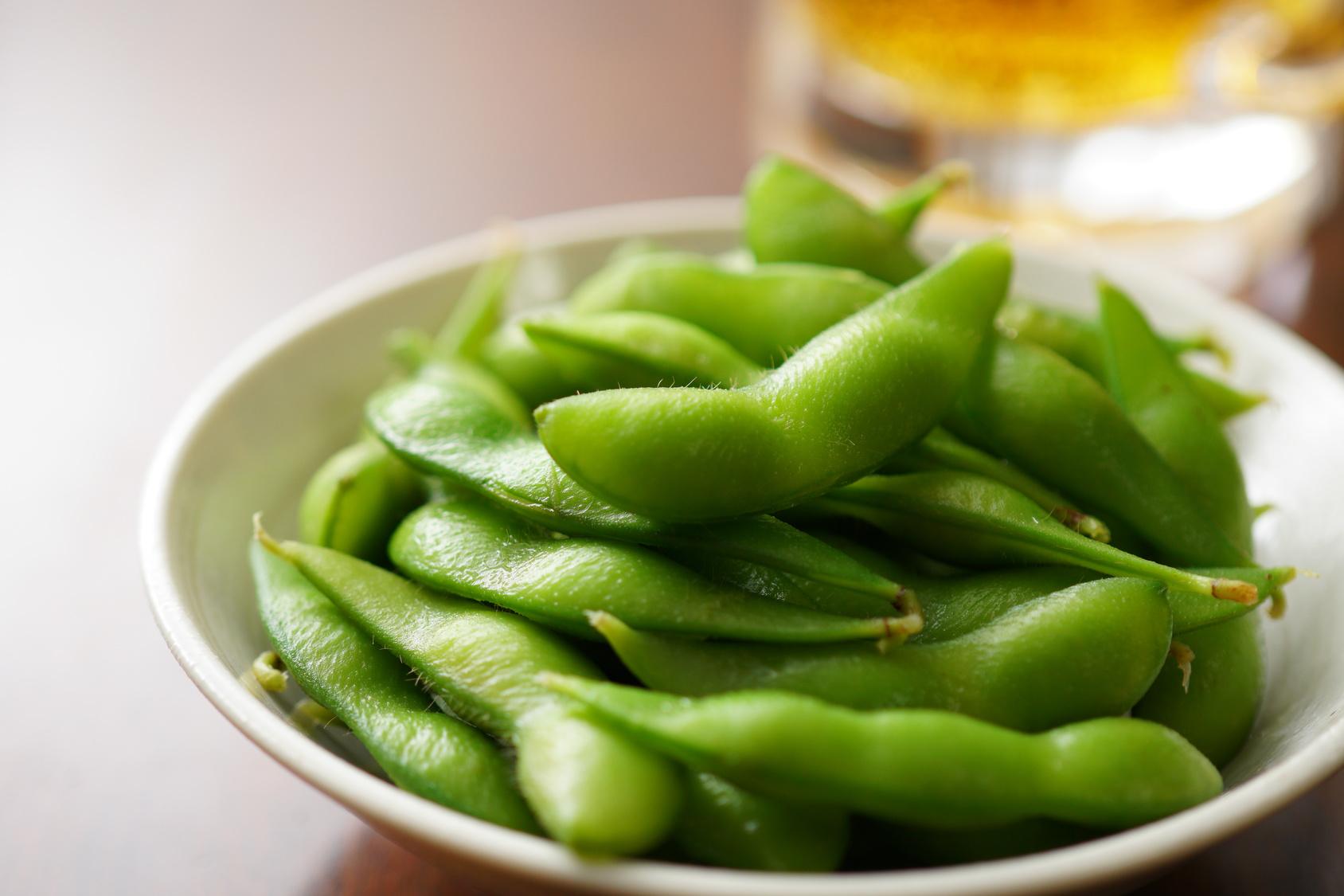 夏野菜を愛犬にあげよう!犬は枝豆を食べても大丈夫?