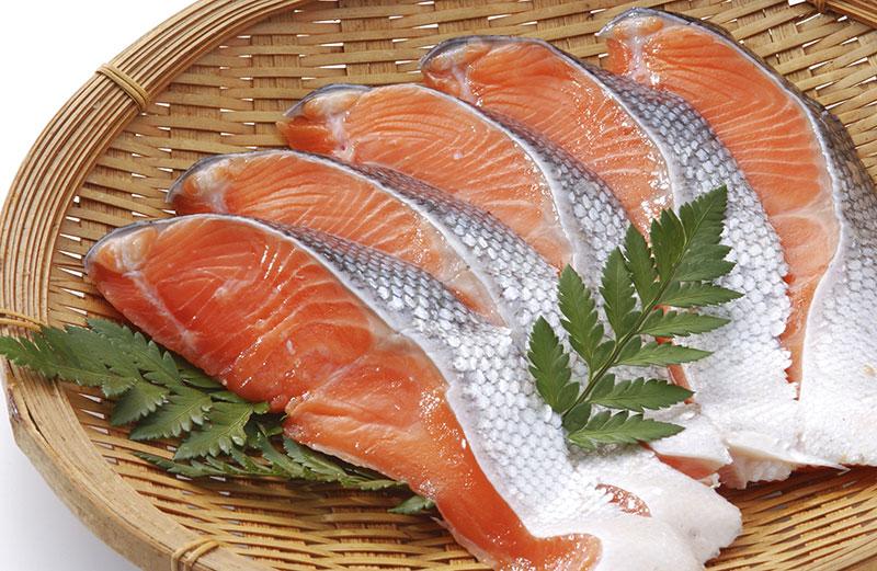 犬は鮭(サーモン)を食べても大丈夫?鮭(サーモン)を食べてアレルギー予防をしよう。