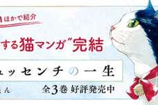 """""""号泣する猫マンガ""""完結! WEBで「泣ける」と大絶賛『ゴジュッセンチの一生』第3巻 6月14日(金)発売"""
