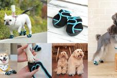 肉球をぴったり包み込む犬用足袋型ブーツ「ドックドッグ いぬたび」が7月2日(火)より新発売!!