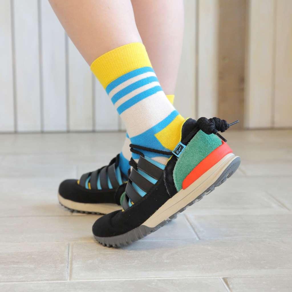 靴やボトムスを履いてもちゃんとお揃い
