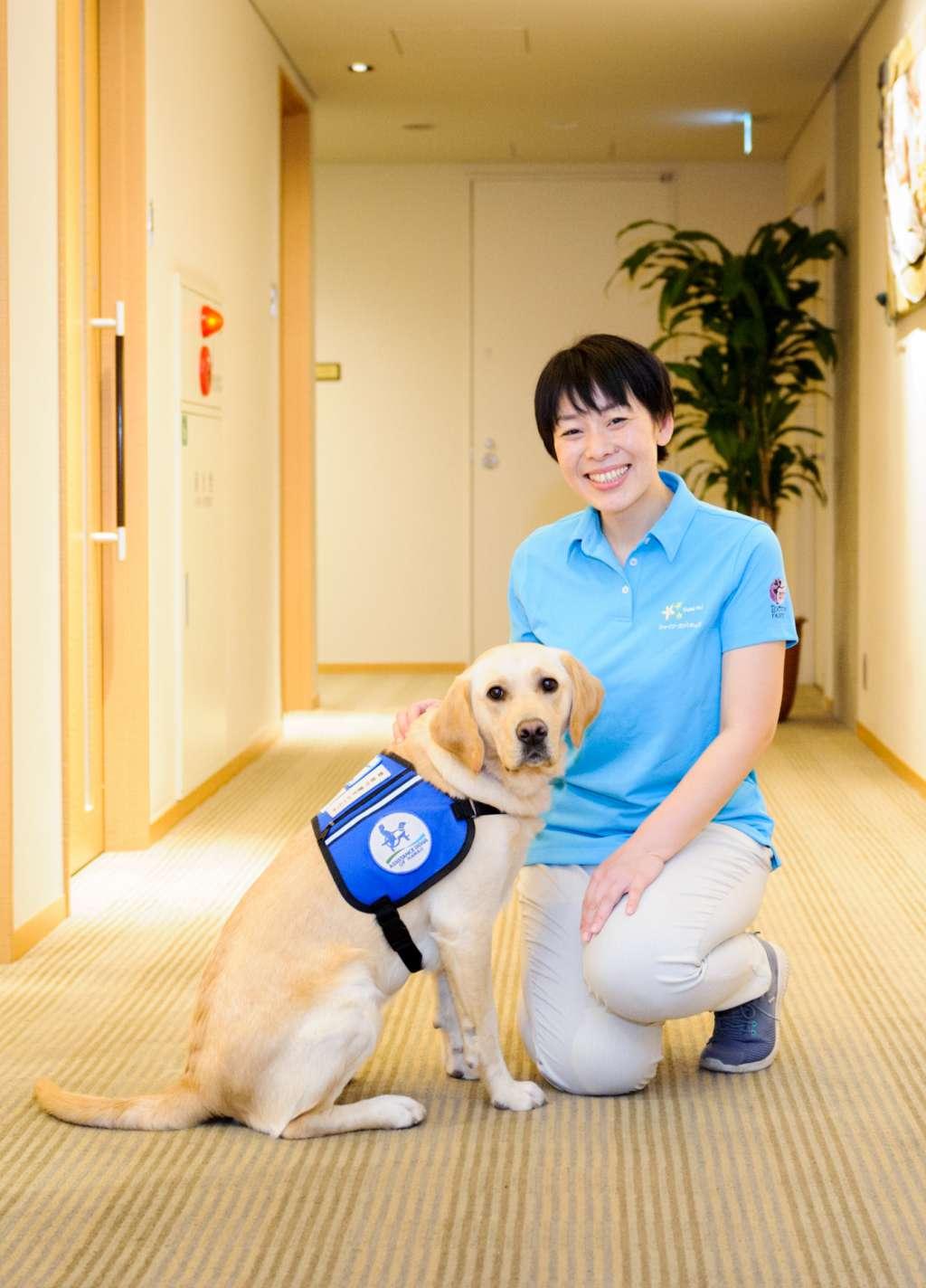 都内初のファシリティドッグ導入、東京都立小児総合医療センターでの開始について
