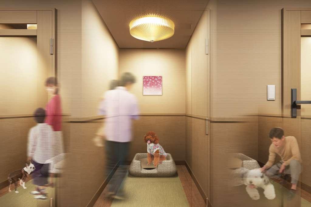 「和」のしっとりとした趣と有馬グランドホテルならではのおもてなしを、愛犬にも。