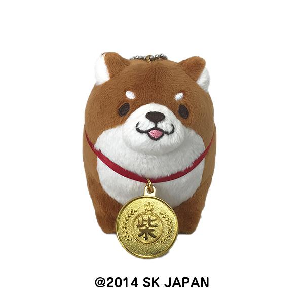 忠犬もちしば ぬいぐるみBCおすわり(金メダル)