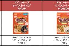 燻せい風味の愛犬用豚皮ガム『ハーツ® オインキーズ』に着色料・保存料無添加のツイストタイプが新登場!