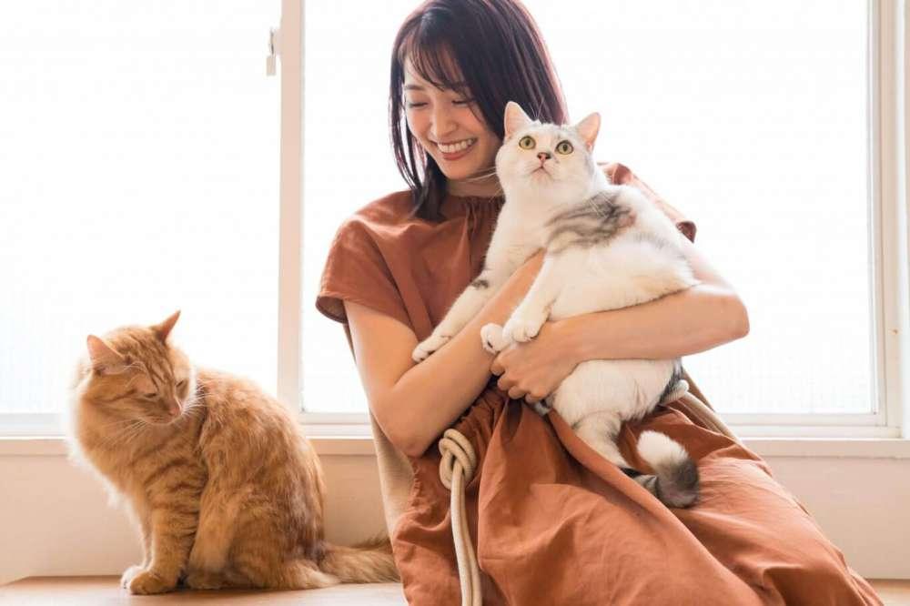 岡本玲さん とろろ(右)&おかか(左) 撮影/野澤亘伸
