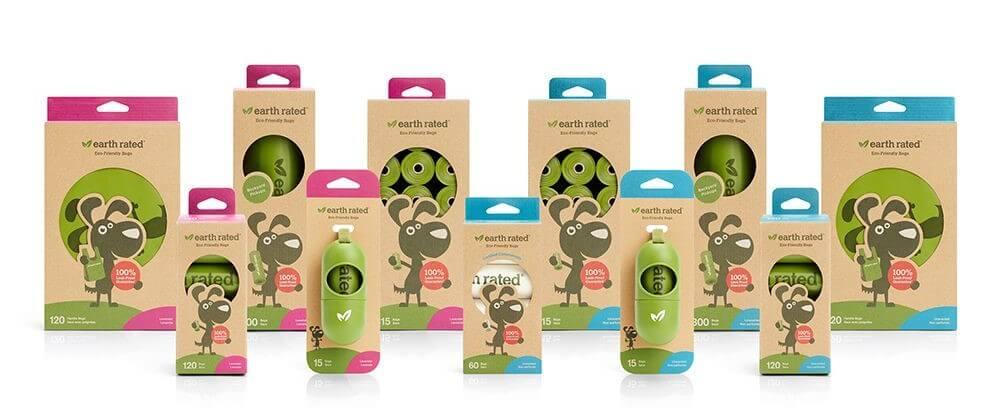【毎日使う犬のうんち袋で保護犬を救いませんか?】欧米で大人気のEarth rated製のエチケット袋の正規品販売を開始!