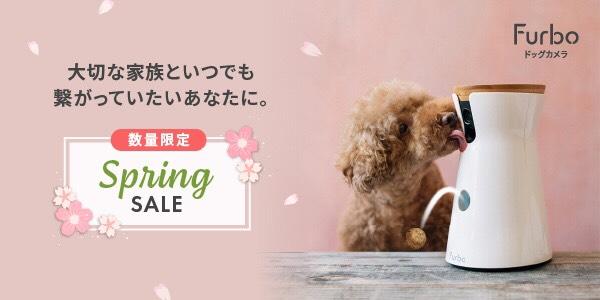 2020年初のビッグセール「Furbo Spring Sale」開催決定