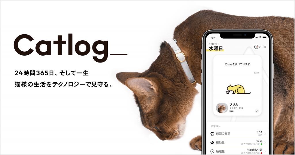 「猫の生活をテクノロジーで見守る」Catlog®