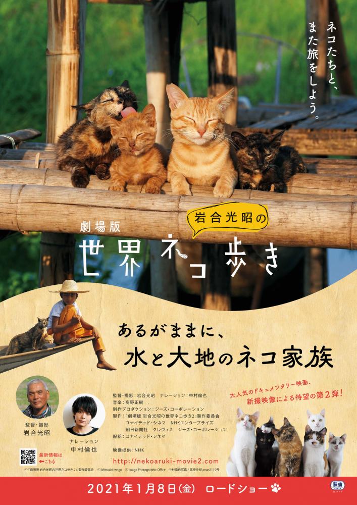 『劇場版 岩合光昭の世界ネコ歩き あるがままに、水と大地のネコ家族』イメージ
