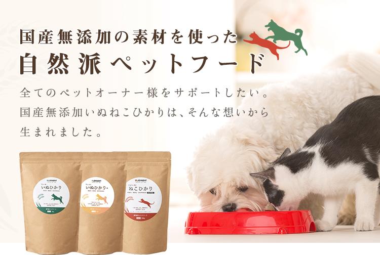 自然派ペットフード「いぬねこひかり」累計販売数 1万個を突破!