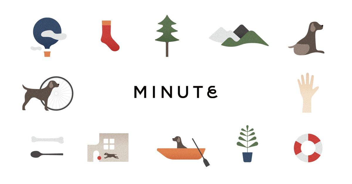 ペットケア用品ブランド「MINUTE」のオンラインストアがオープン。1stプロダクトはシャンプー&コンディショナー。