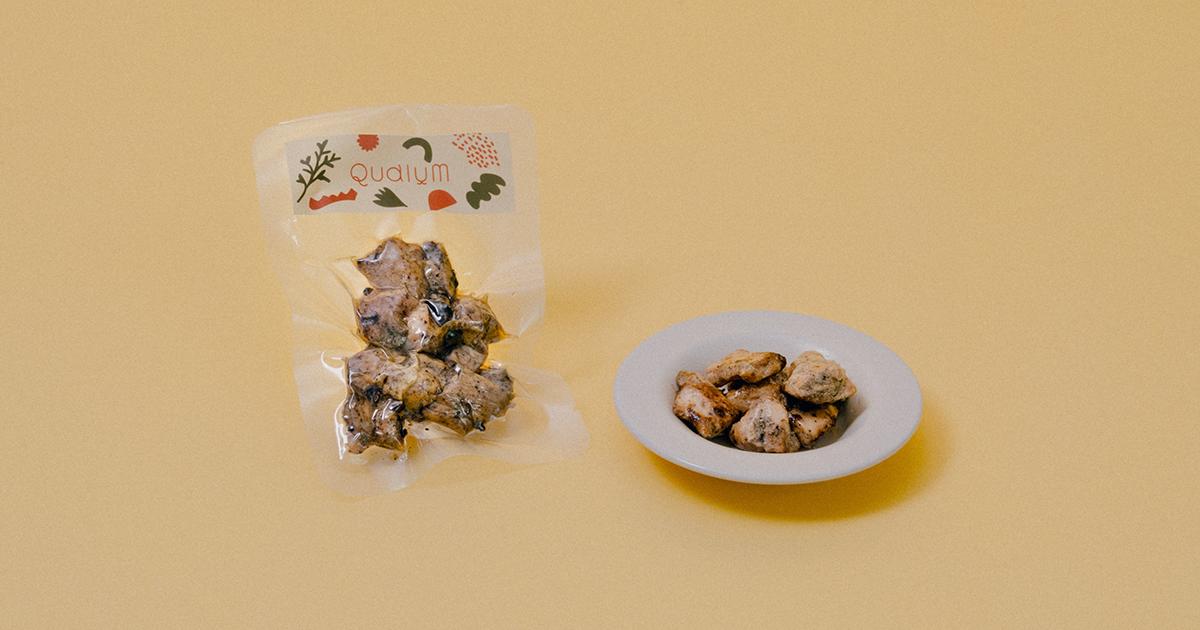 九州若鶏の炭火手焼 ※カツオ、あるいはフルーツにアレルギーがある場合の代替品